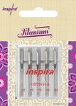 INSPIRA INSPIRA QUILTING TITANIUM NEEDLES 90/14 130/705HQ