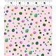 Clothworks PER CM OR $20/M - You Me and the Trees - Y2811-41 - Multi-Dot on Light Pink