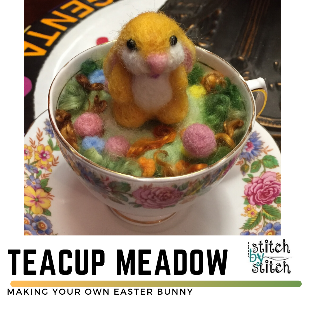Teacup Felted Meadow Animal Class
