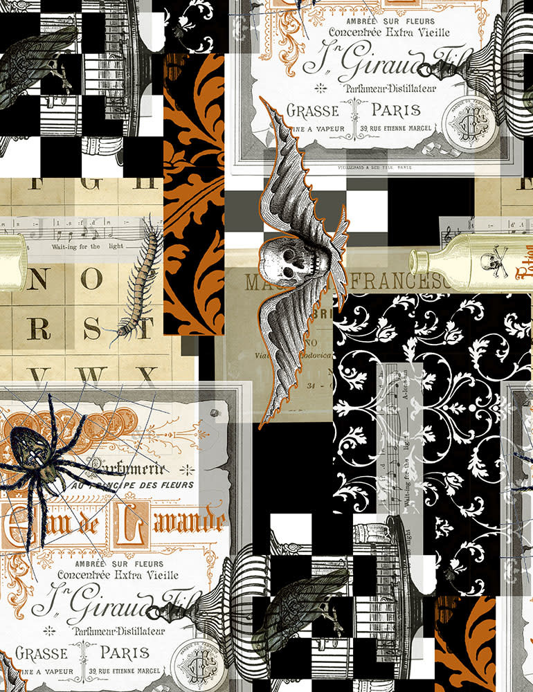 TIMELESS TREASURES Boo Crew Collage