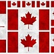 WILMINGTON PRINTS CANADIANISMS -CANADIAN FLAG PANEL