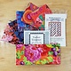 KAFFE FASSETT KAFFE FASSETT: STUDIO 180  COMBO WEAVE KIT - WITH BACKGROUND