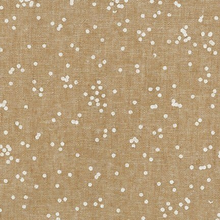 ROBERT KAUFMAN BALBOA Linen / Cotton in TAUPE PER CM OR $23/M -