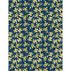 WILMINGTON PRINTS Madison Navy with yellow flowers, /cm or $20/m