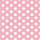 Tilda Basics Medium Dots, Pink - per cm or $20/m