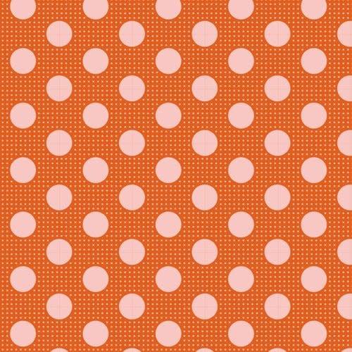 tilda Tilda Basics Medium Dots, Ginger - per cm or $20/m