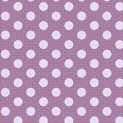 tilda Tilda Basics Medium Dots, Lilac - per cm or $20/m