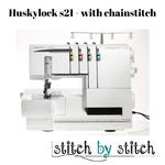 Husqvarna Viking HUSKYLOCK™ s21  with coverlock