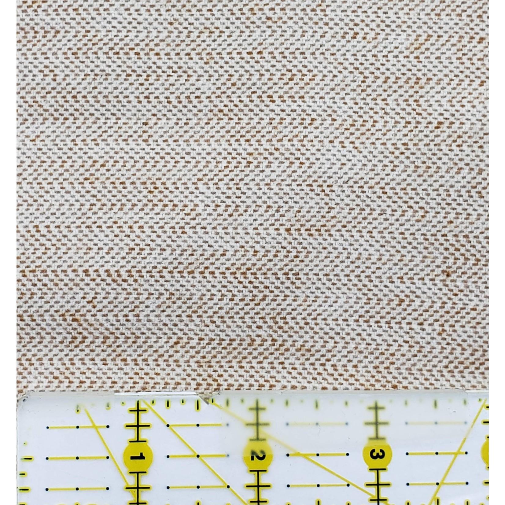 Marcus Fabrics Primo Flannel Heathers, Cream 0140 - Per Cm or $16/m