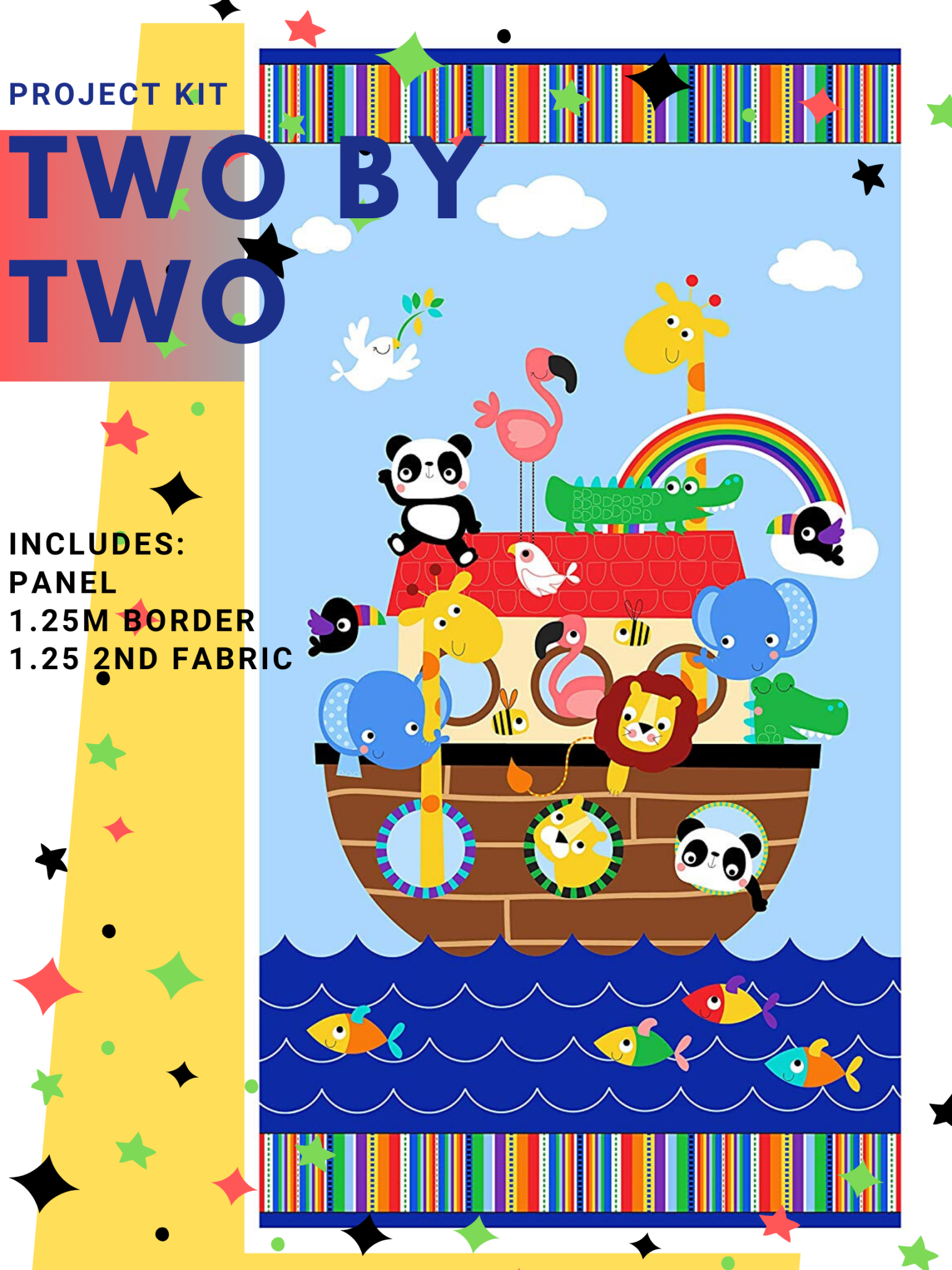 TIMELESS TREASURES PROJECT KIT TWO BY TWO