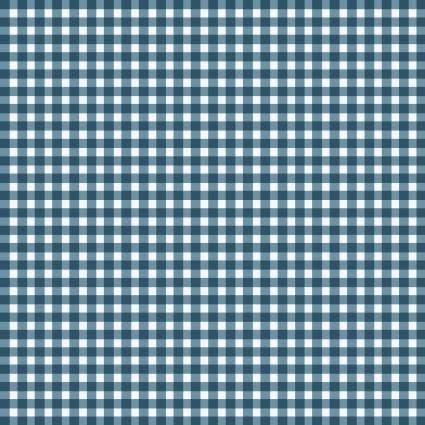 MAYWOOD Beautiful Basics Gingham Ocean Blue, /CM OR $18/M