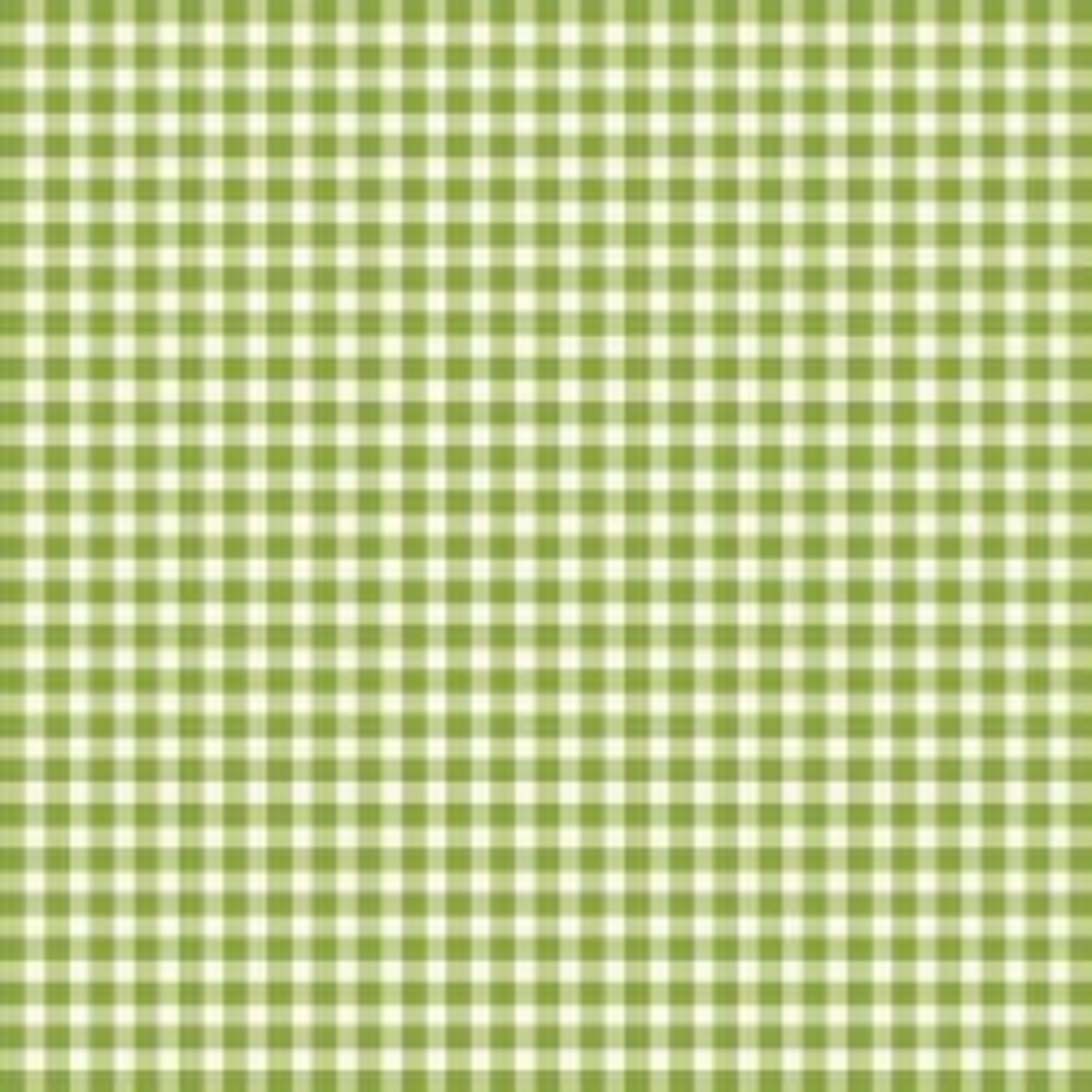 MAYWOOD Beautiful Basics Gingham Green Apple, /CM OR $18/M