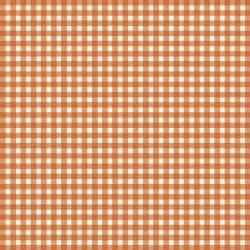 MAYWOOD Beautiful Basics Gingham Pumpkin, /CM OR $18/M