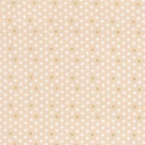 LECIEN PER CM OR $13/M LOYAL HEIGHTS PEACH DOT (31888-40)