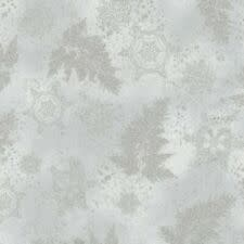 ROBERT KAUFMAN SILVER ON GREY BRANCHES AND SNOW HOLIDAY FLOURISH BY ROBERT KAUFMAN $0.20 /CM OR $20/M