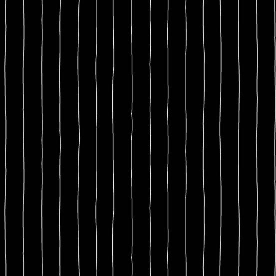 ART GALLERY BUZZING AROUND BLACK STRIPE, PER CM OR $20/M