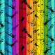ART GALLERY BUZZING AROUND RAINBOW  STRIPE, PER CM OR $20/M