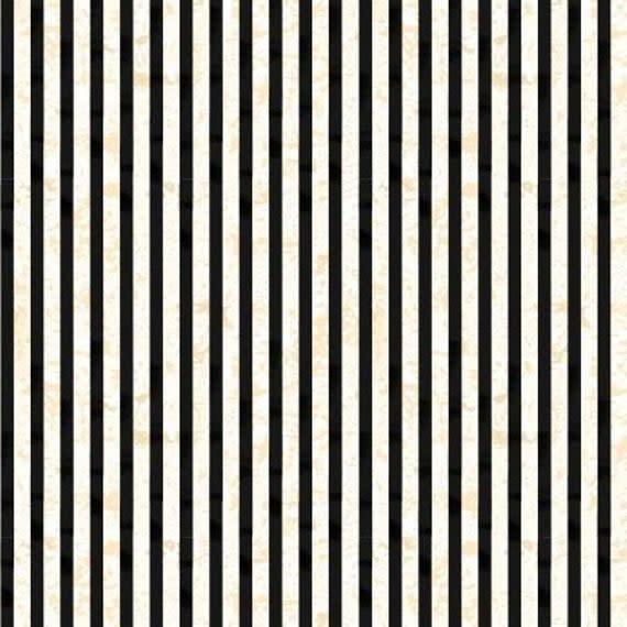 WILMINGTON PRINTS Gone Batty Black and White Stripe per cm or $21/m
