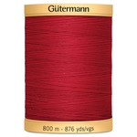 Guterman Col.2074 Gutermann Cotton 800m Blood Red