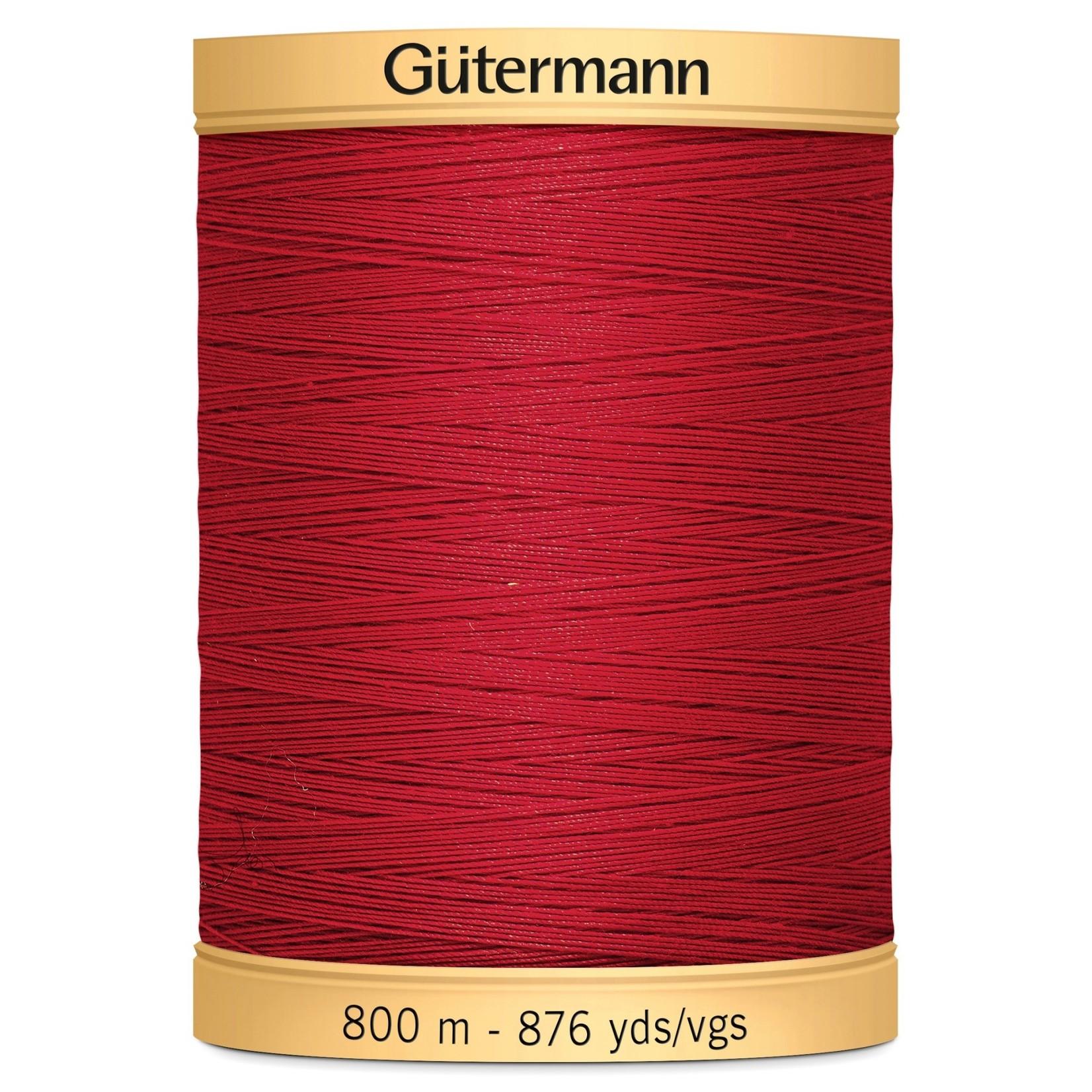 GUTERMANN Col.2074 Gutermann Cotton 800m Blood Red