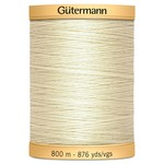 Guterman Col.0919 Gutermann Cotton 800m Light Cream