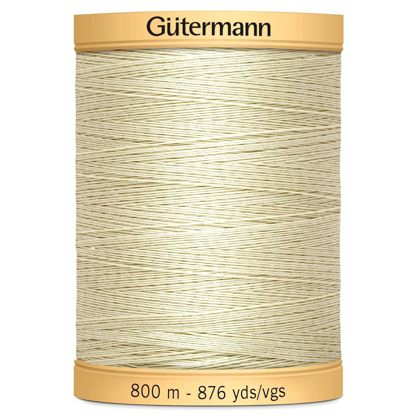 Guterman Col.0829 Gutermann Cotton 800m Sunshine Sky Beige