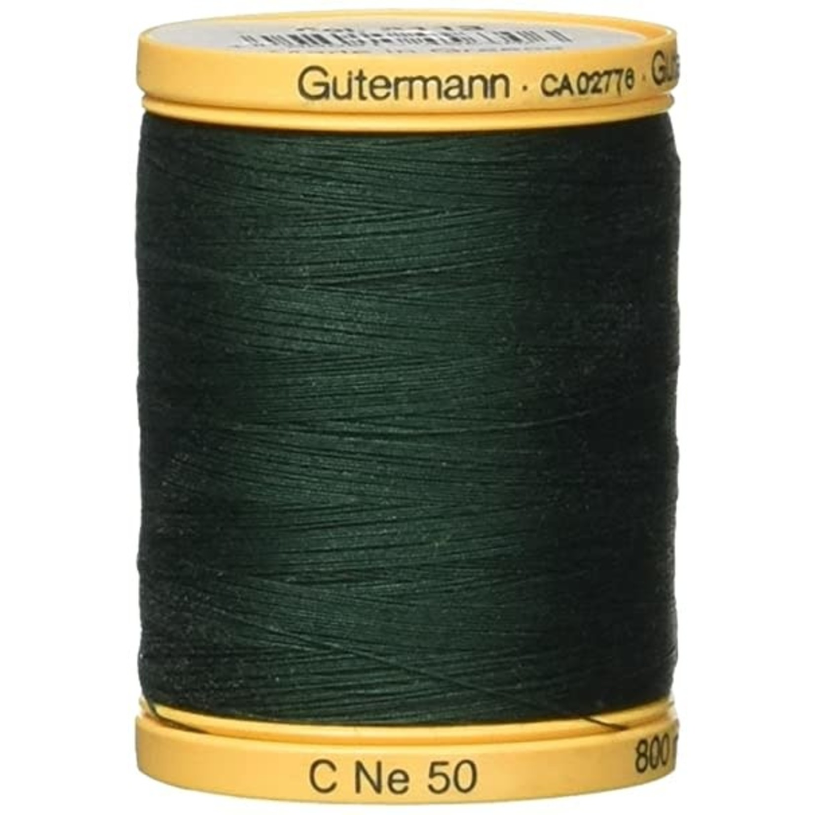 GUTERMANN GÜTERMANN Cotton 50wt Thread 800m - Hunter Green