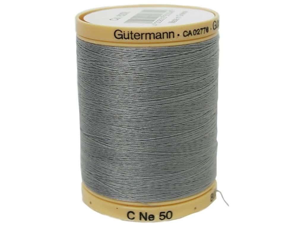 GUTERMANN Col.6206 Gutermann Cotton Thread 800m Grey