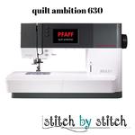 Pfaff Pfaff Quilt ambition 630