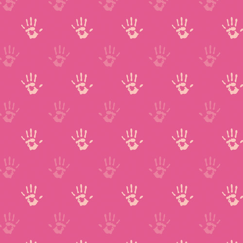 ART GALLERY PLAYROOM FINGERPAINT PINK, PER CM OR $20/M