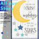 IN HOUSE ALL OUR STARS Wall Hanging