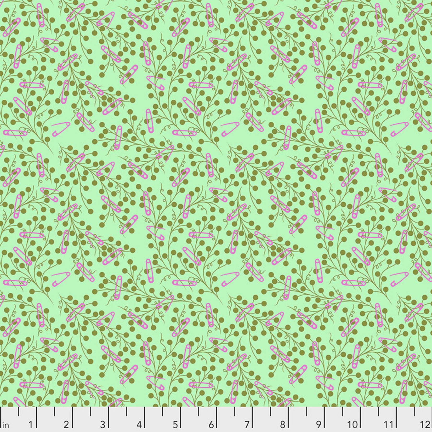TULA PINK HOMEMADE Pins & Needles - Morning, per cm or $17/m