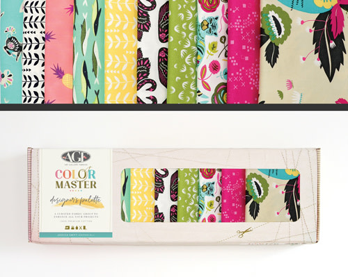 AGF Colour Master kit Jessica Swift Edition No.1 - 10 Fat Quarters