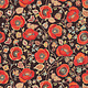 Blank Quilting Corp AVIGNON Med Poppy (39 on Brown) PER CM OR $21/M