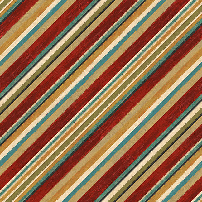 Blank Quilting Corp AVIGNON Bias Stripe (88) PER CM OR $21/M