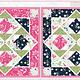 STUDIO E Boho Blooms, Bunny Cheater Quilt (50 cm square) , price /panel