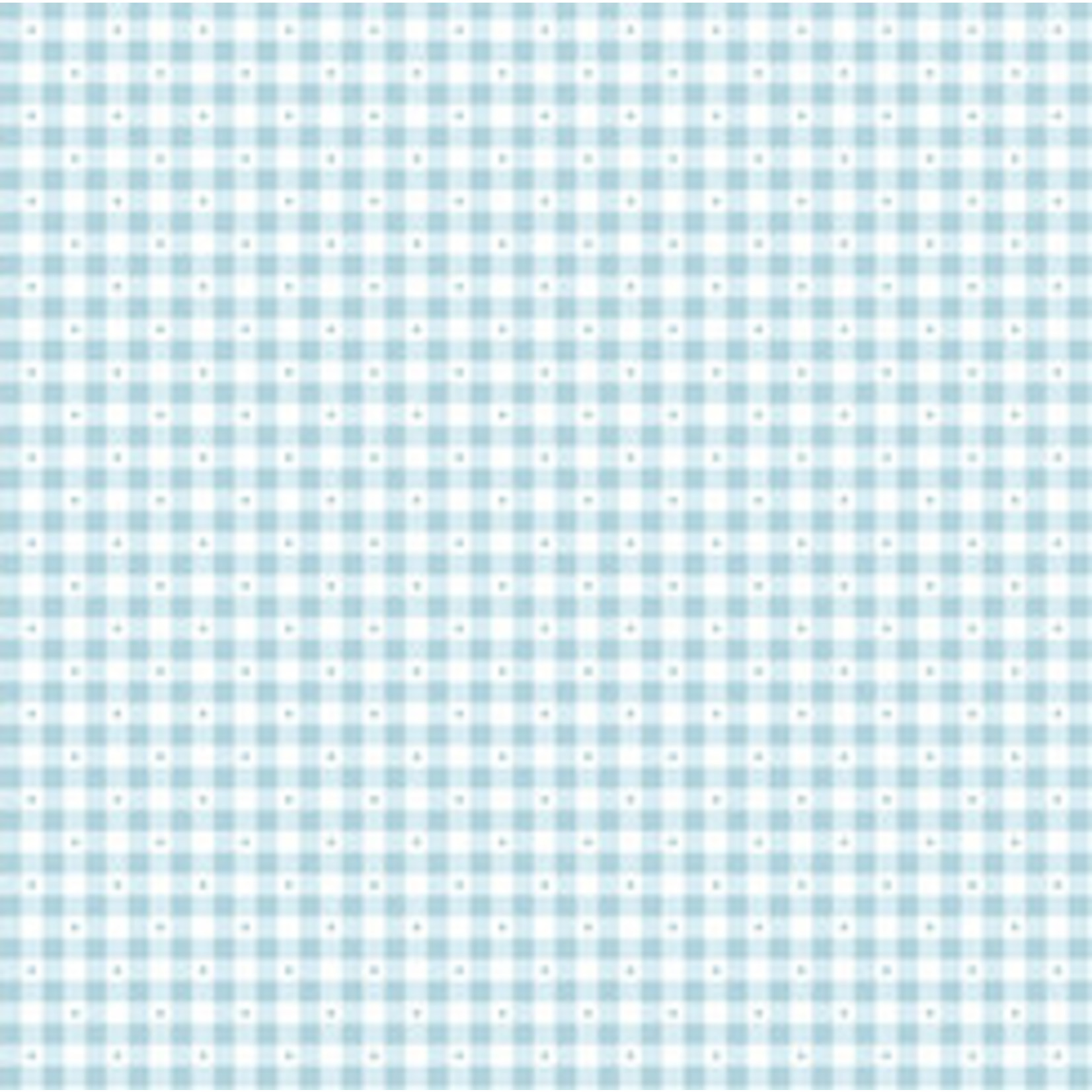 Quilting Treasures SORBETS - Gingham Blue, /cm or $20