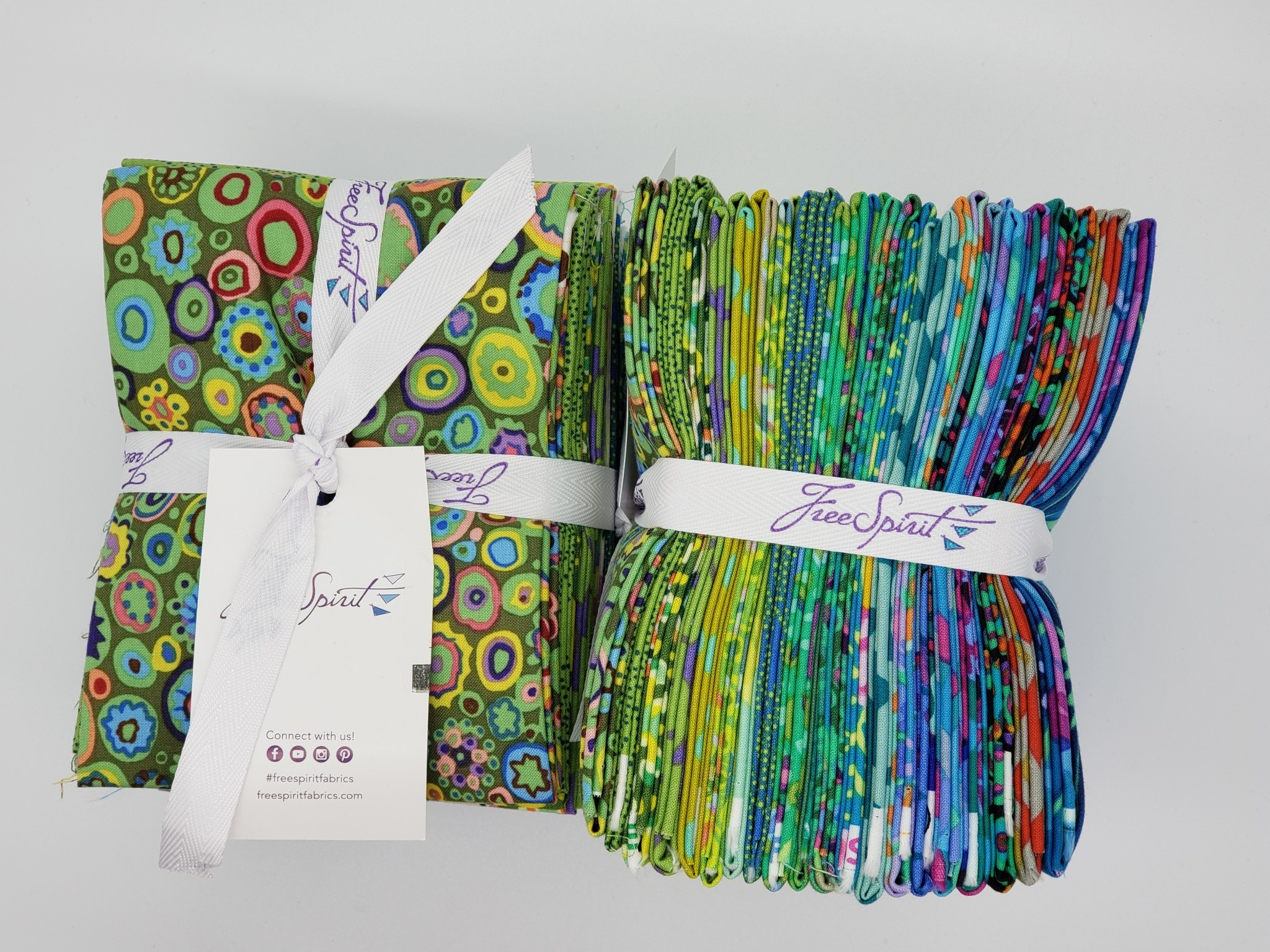 KAFFE FASSETT KF Collective FAT 1/4 BUNDLE - ISLAND