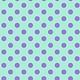 TULA PINK HOMEMADE Pom Pom Dots, Petunia, per cm or $17/m