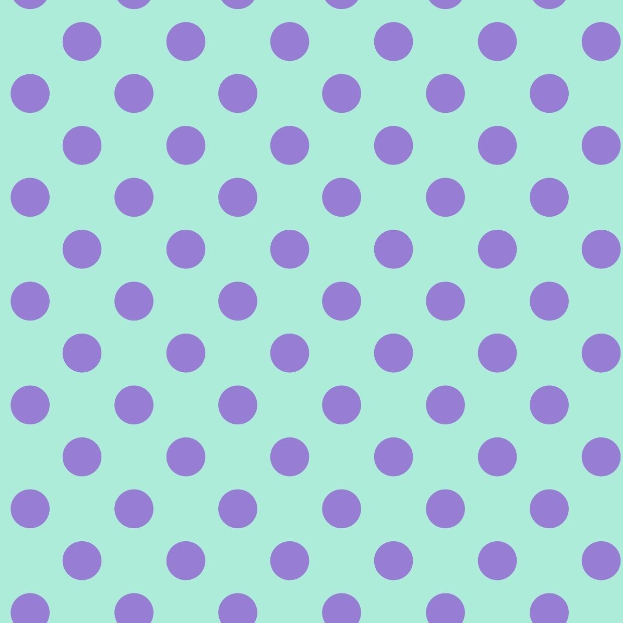 Tula Pink Pom Pom Dots, Petunia, per cm or $17/m