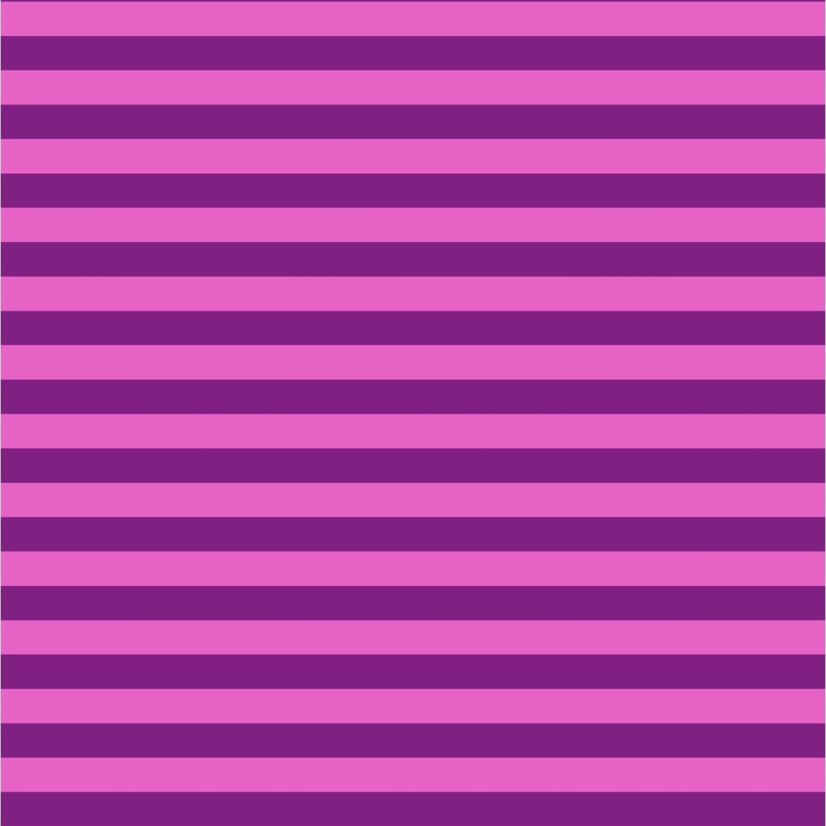 Tula Pink Tula Tent Stripe - Foxglove $.17 per cm or $17/m