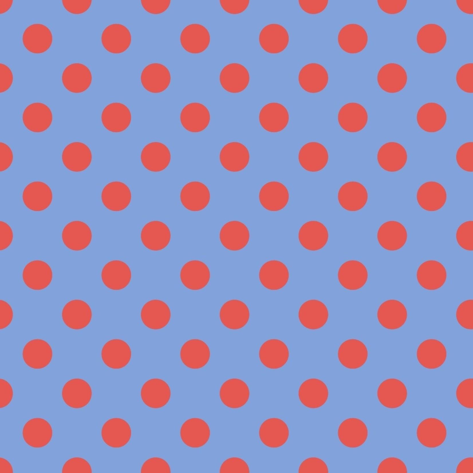 Tula Pink Tula Pom Poms- Lupine 0.17 per cm or $17/m