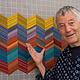 FREE SPIRIT Design Wall Grey Flannel Grid