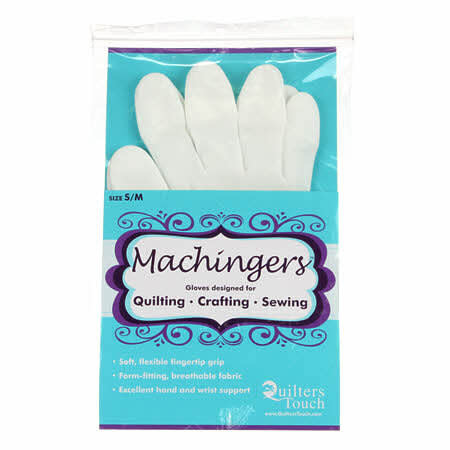 QUILTERS TOUCH MACHINGERS - SIZE XS - Gloves