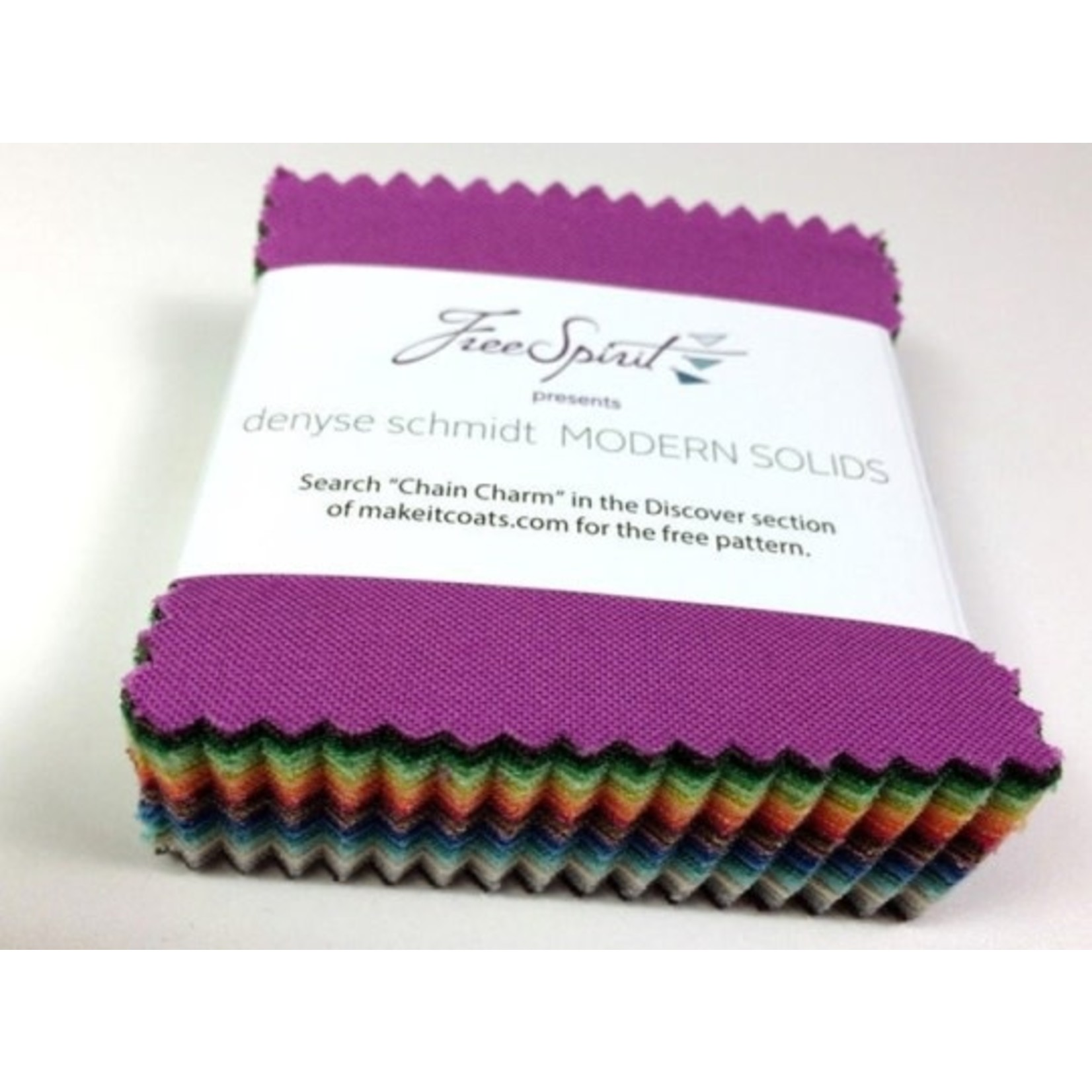 "FREE SPIRIT Modern Solids 2.5"" squares - 75 colours"