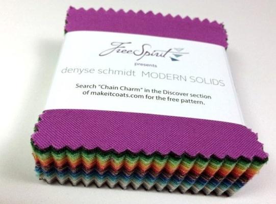 "FREE SPIRIT Modern Solids 2.5"" squares - 75 colours"