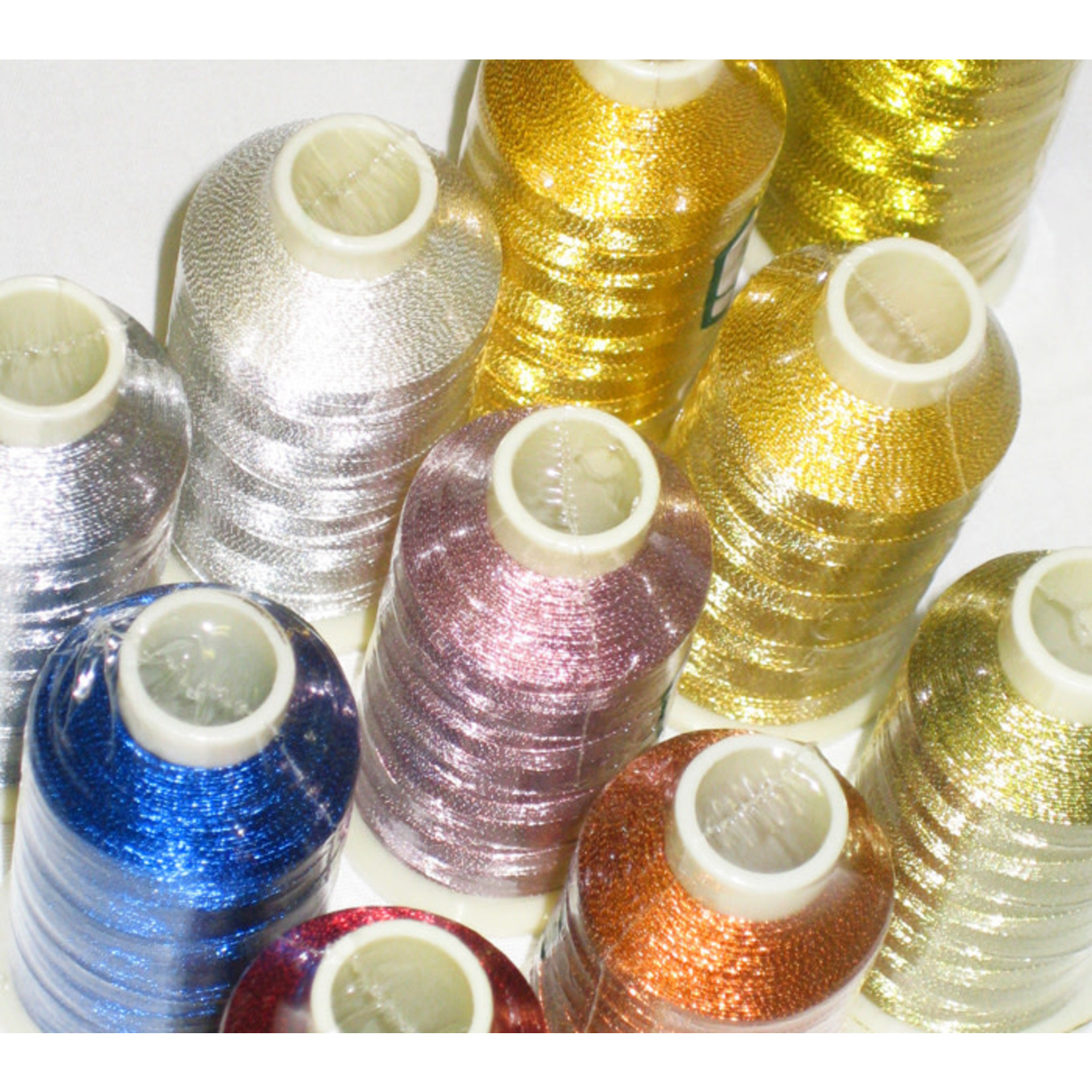 MARATHON Colour 3023 - 1000mtr METALLIC POLY EMBROIDERY THREAD