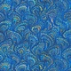 ROBERT KAUFMAN Library of Rarities, Indigo Marbled Endpaper, per cm or $20/m