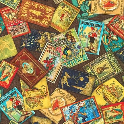 ROBERT KAUFMAN Library of Rarities, Antique Book Covers, per cm or $20/m