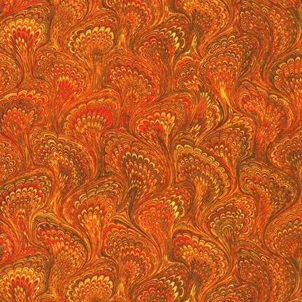 ROBERT KAUFMAN Library of Rarities, Copper Marbled Endpaper, per cm or $20/m